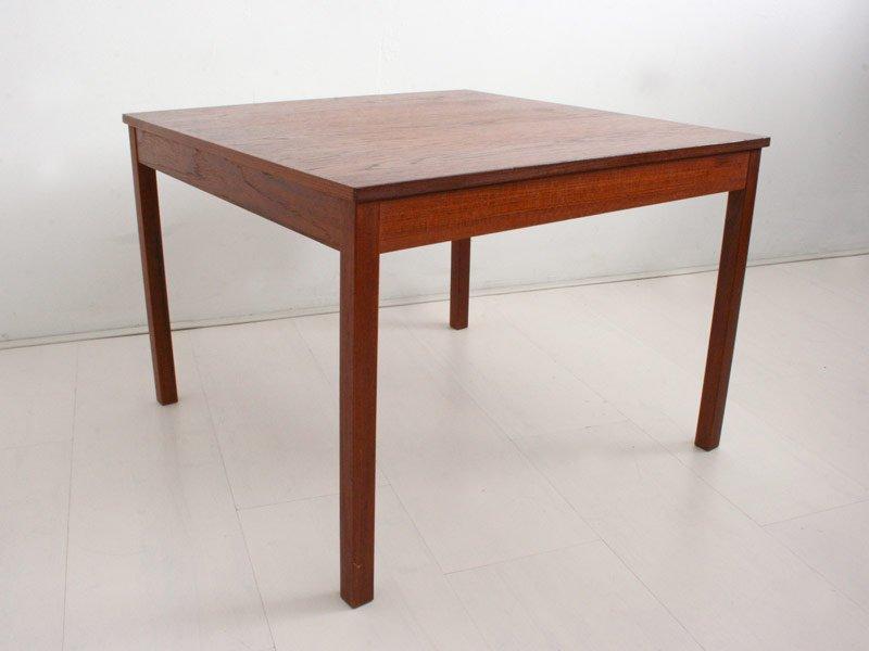 Vintage danish teak side table for sale at pamono vintage danish teak side table aloadofball Images