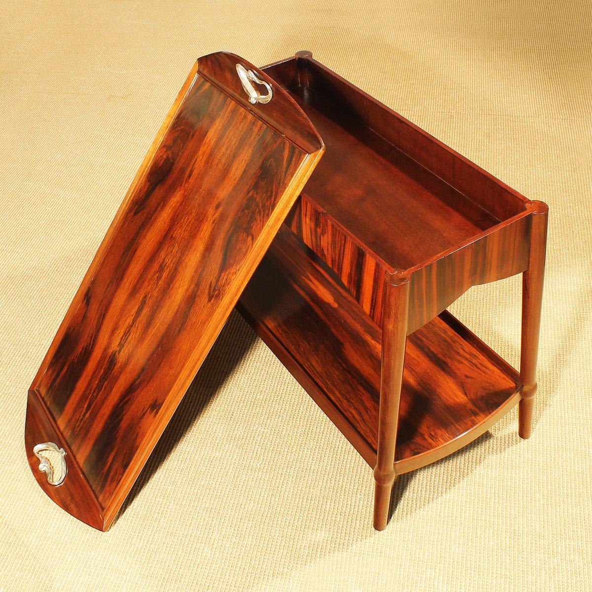 franz sischer art nouveau dessert tisch 1900 bei pamono kaufen. Black Bedroom Furniture Sets. Home Design Ideas