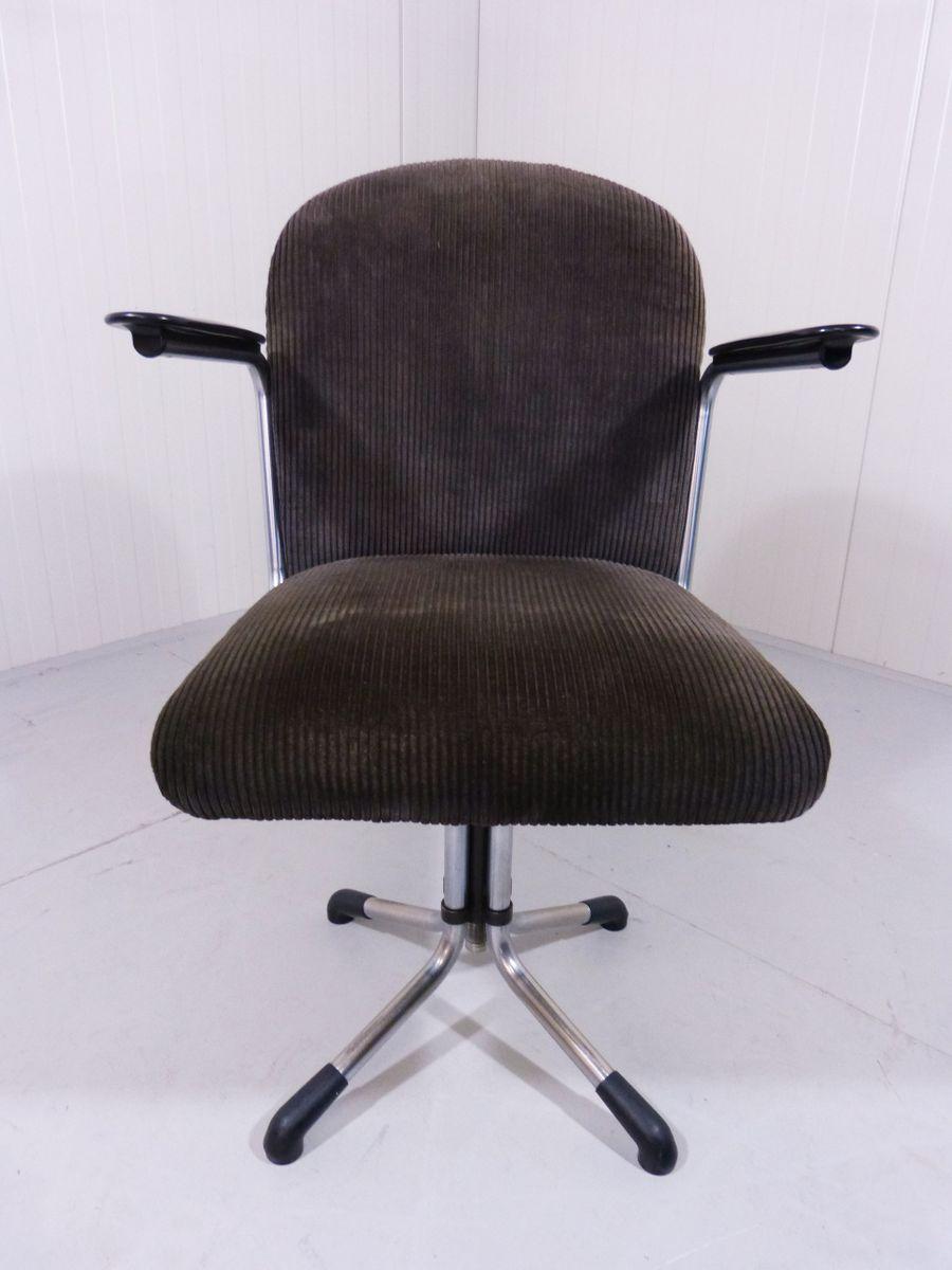 356 kord schreibtischstuhl von gispen bei pamono kaufen for Schreibtischstuhl designklassiker