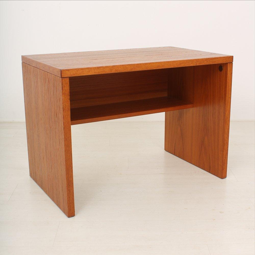 skandinavischer vintage teakholz schreibtisch bei pamono kaufen. Black Bedroom Furniture Sets. Home Design Ideas