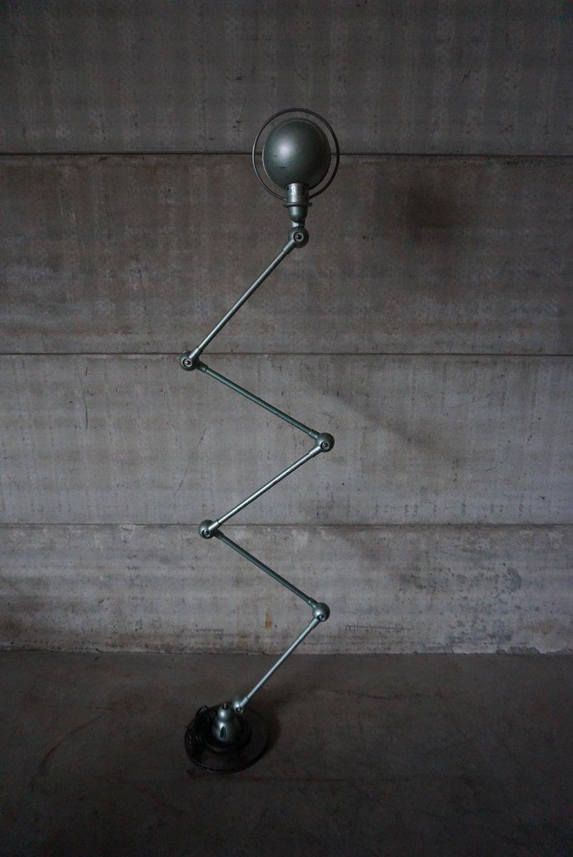 Charming 5 Armed Industrial Vespa Lamp By Jean Louis Domecq For Jieldé