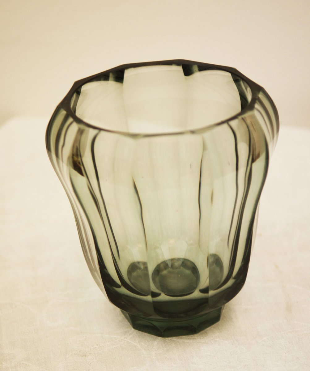 Art deco crystal glass vase for sale at pamono art deco crystal glass vase reviewsmspy