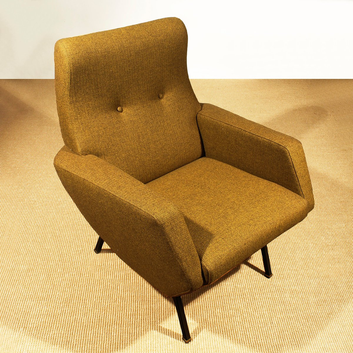 Mustard italian armchairs 1960s set of 2 for sale at pamono for 2 armchairs for sale