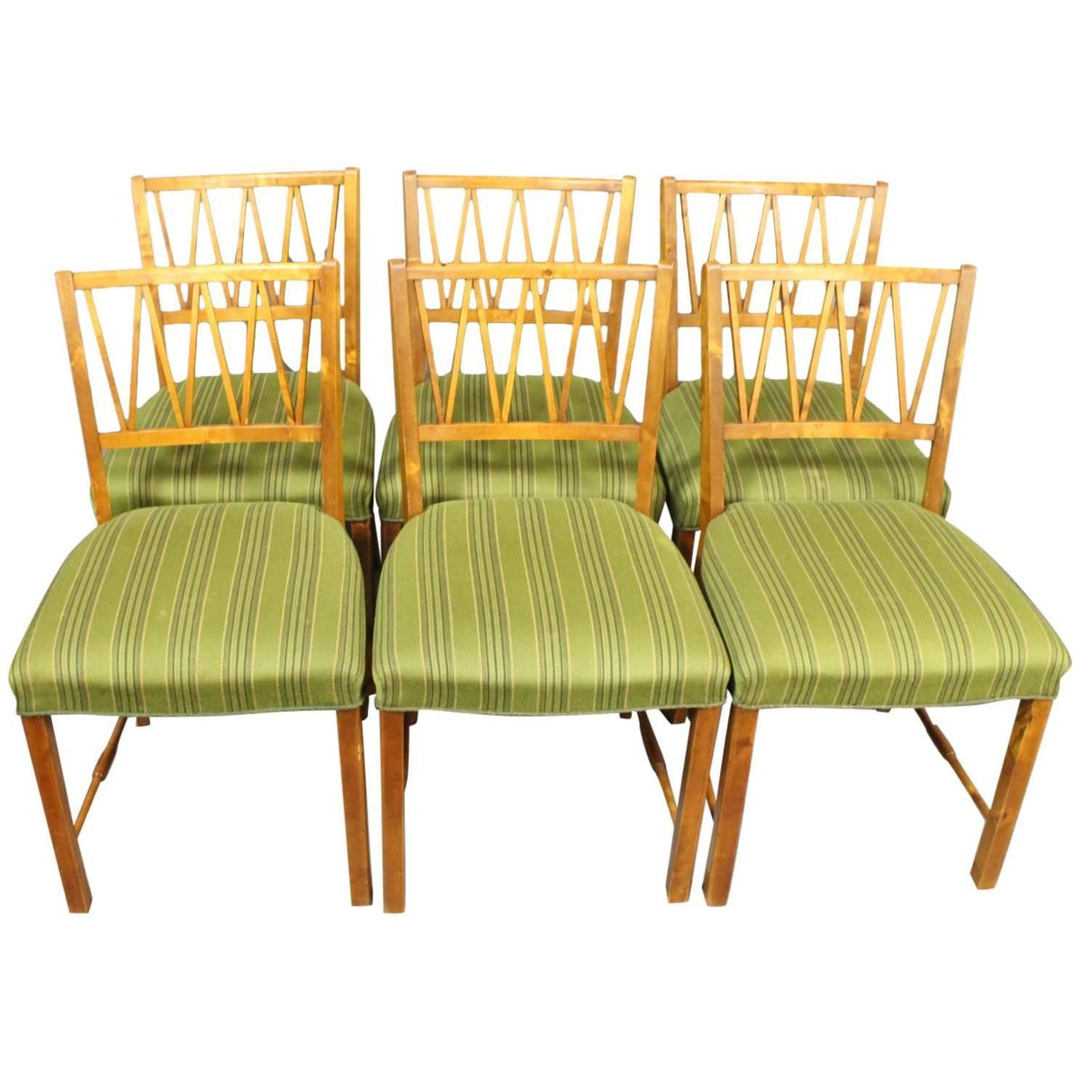 danish walnut dining chairs 1940s set of 6 for sale at pamono - Set Of Six Dining Room Chairs