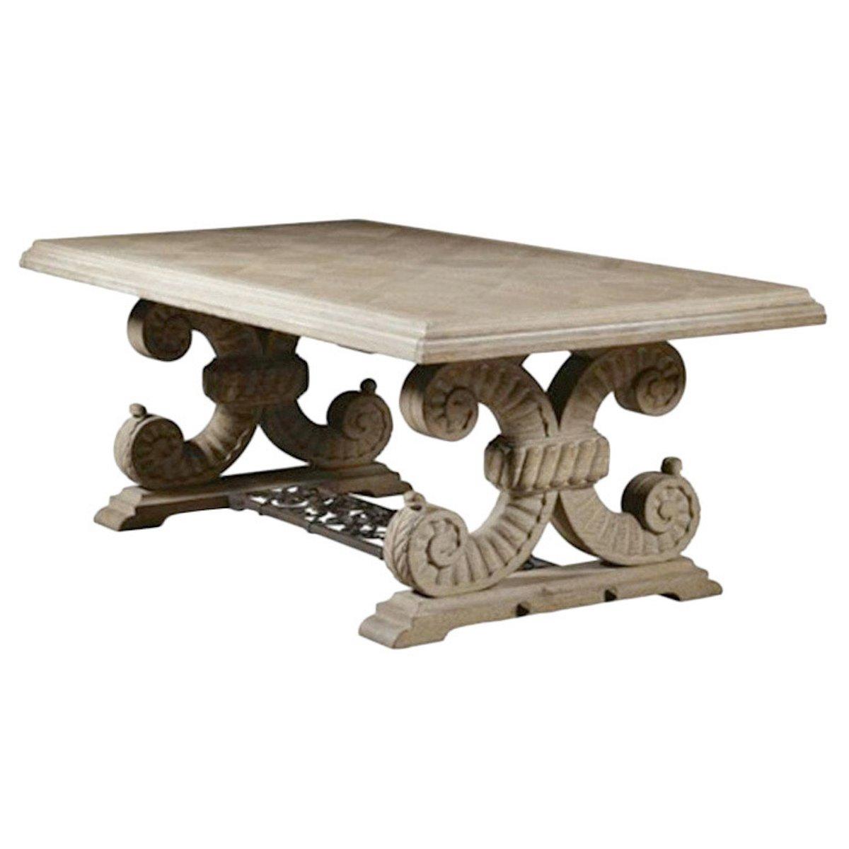 Table de salle manger art d co en ch ne et fer par jean charles moreux 1937 en vente sur pamono - Deco sur table salle a manger ...