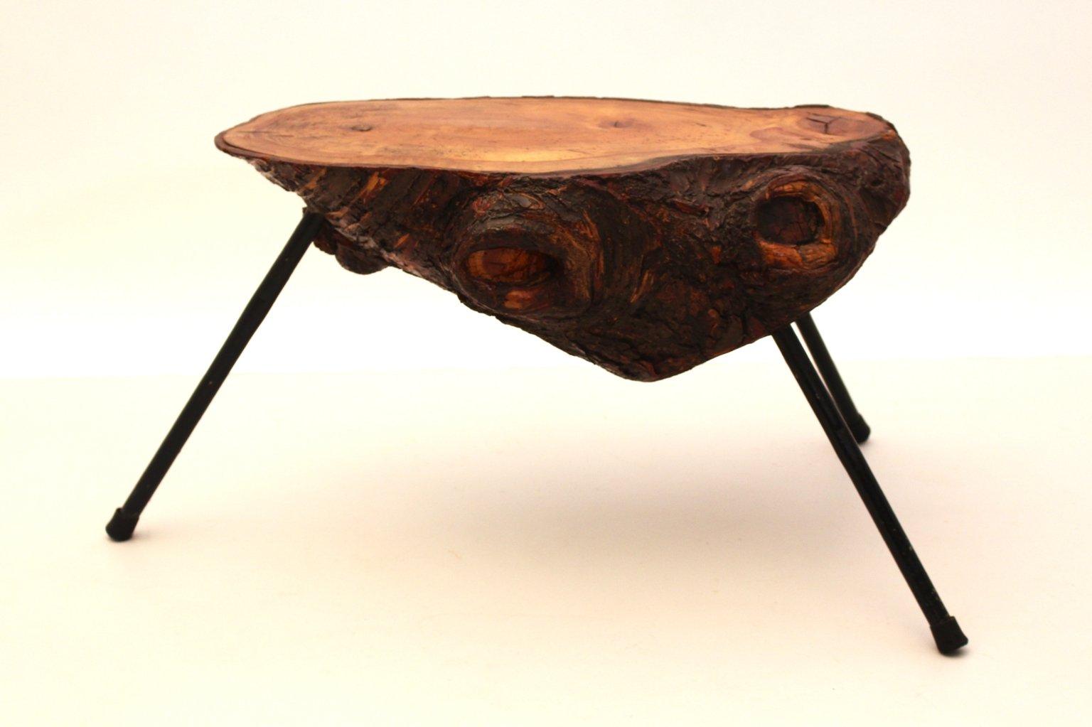 table tronc d 39 arbre autriche 1950s en vente sur pamono. Black Bedroom Furniture Sets. Home Design Ideas