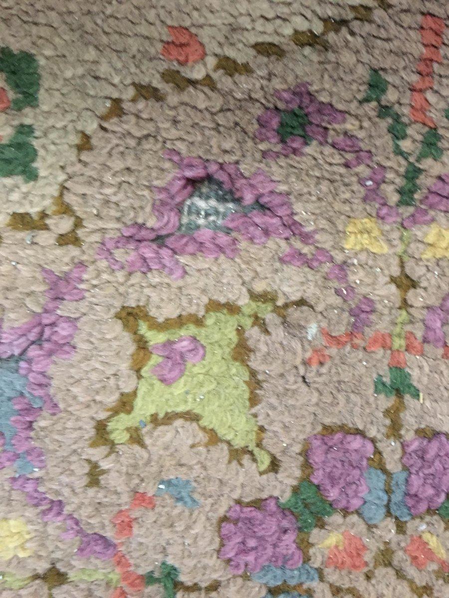 handgewebter niederl ndischer art nouveau teppich mit blumenmuster bei pamono kaufen. Black Bedroom Furniture Sets. Home Design Ideas
