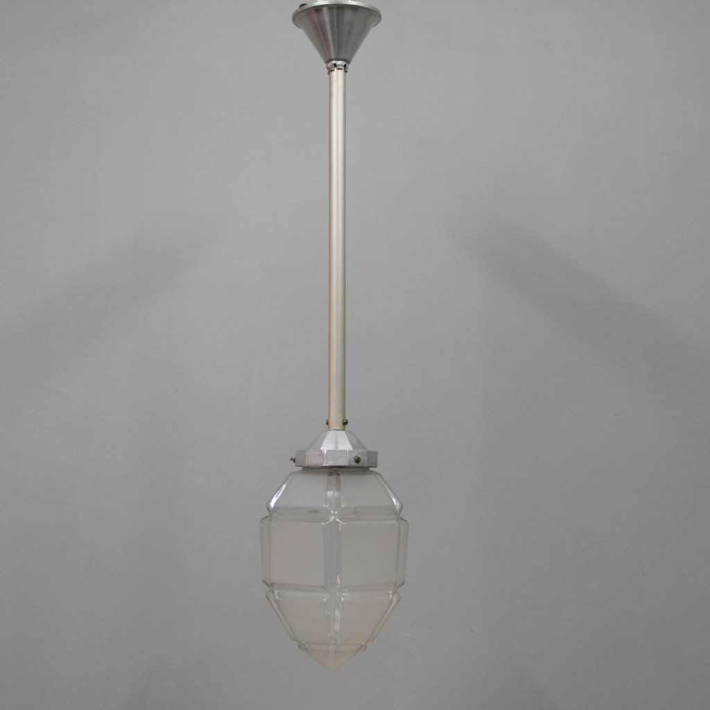 French Art Deco Molded Glass Ceiling Lamp for sale at Pamono for Ceiling Lamp Texture  155fiz