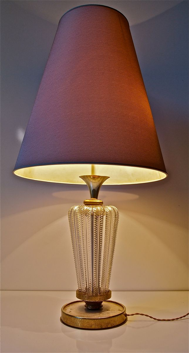 Bronze and gold leaf table lamp by genet michon 1950s en venta en 90000 aloadofball Choice Image