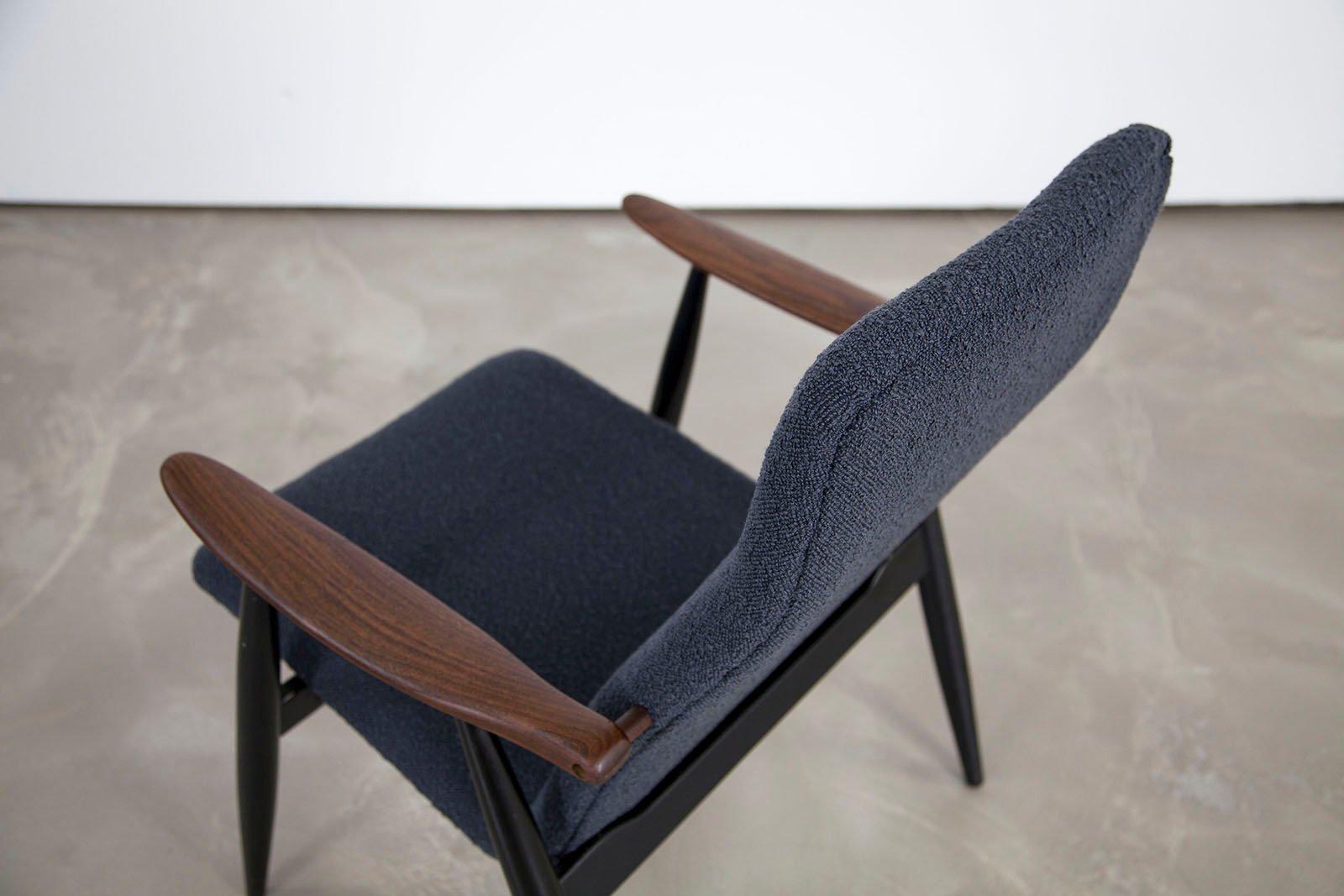 skandinavischer vintage teak sessel von olli borg f r asko bei pamono kaufen. Black Bedroom Furniture Sets. Home Design Ideas
