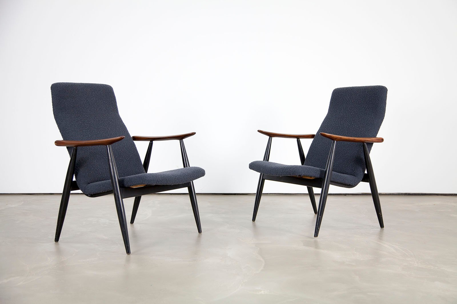 chaise longue vintage scandinave en teck par olli borg pour asko en vente sur pamono. Black Bedroom Furniture Sets. Home Design Ideas