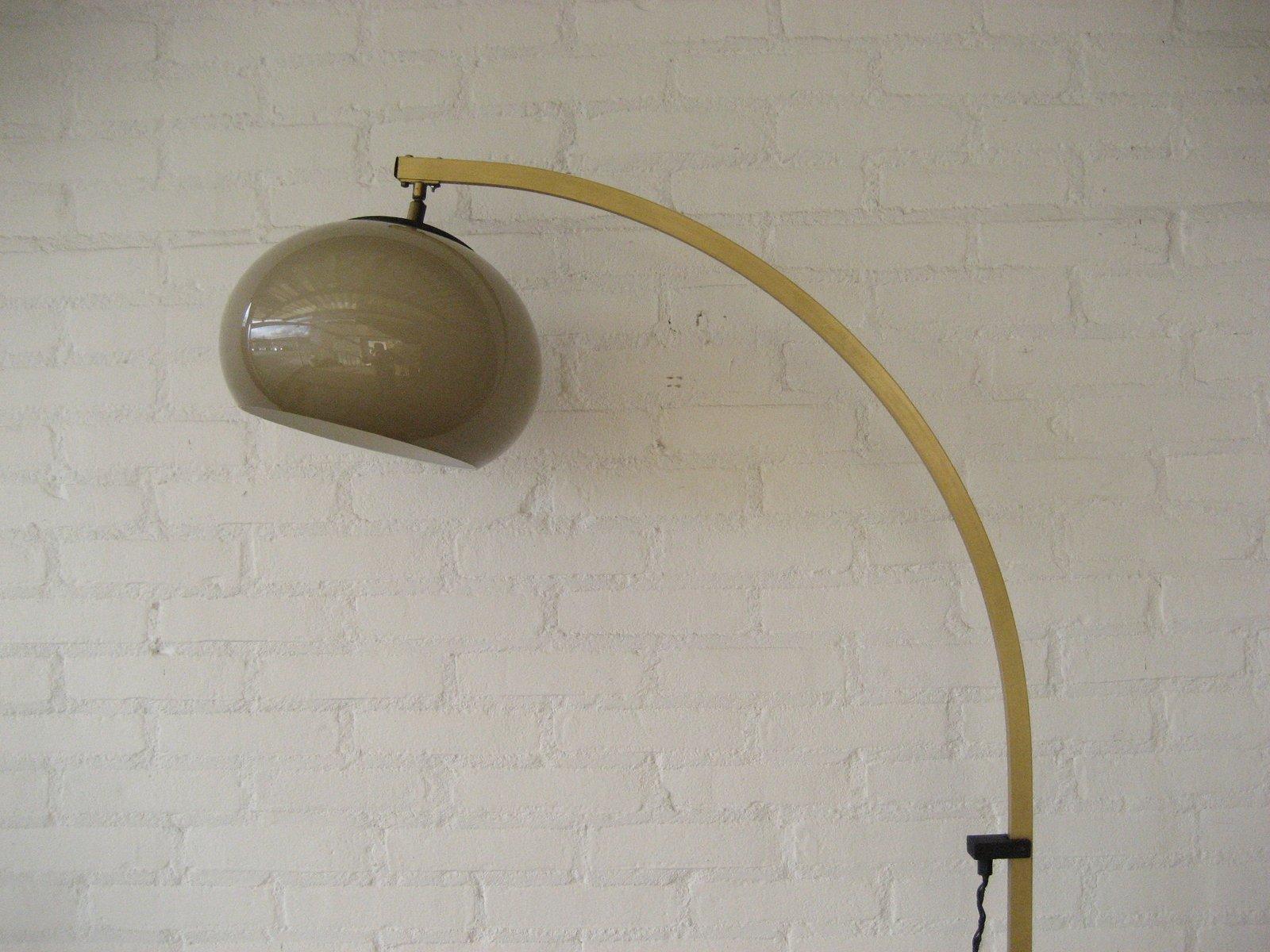 lampadaire arc vintage france 1970s 3 5 Luxe Lampadaire En Arc Kdh6