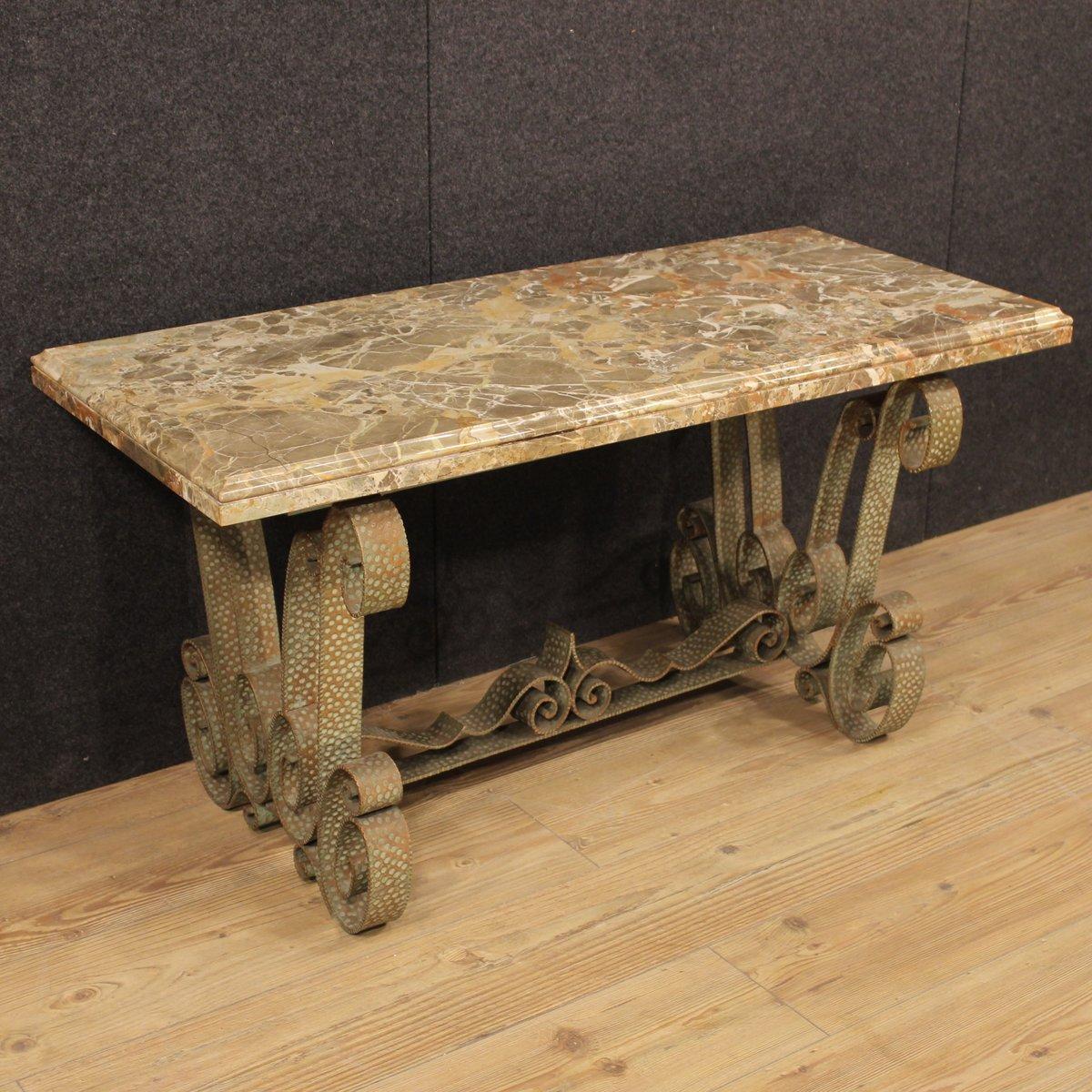 table basse vintage en marbre italie en vente sur pamono. Black Bedroom Furniture Sets. Home Design Ideas