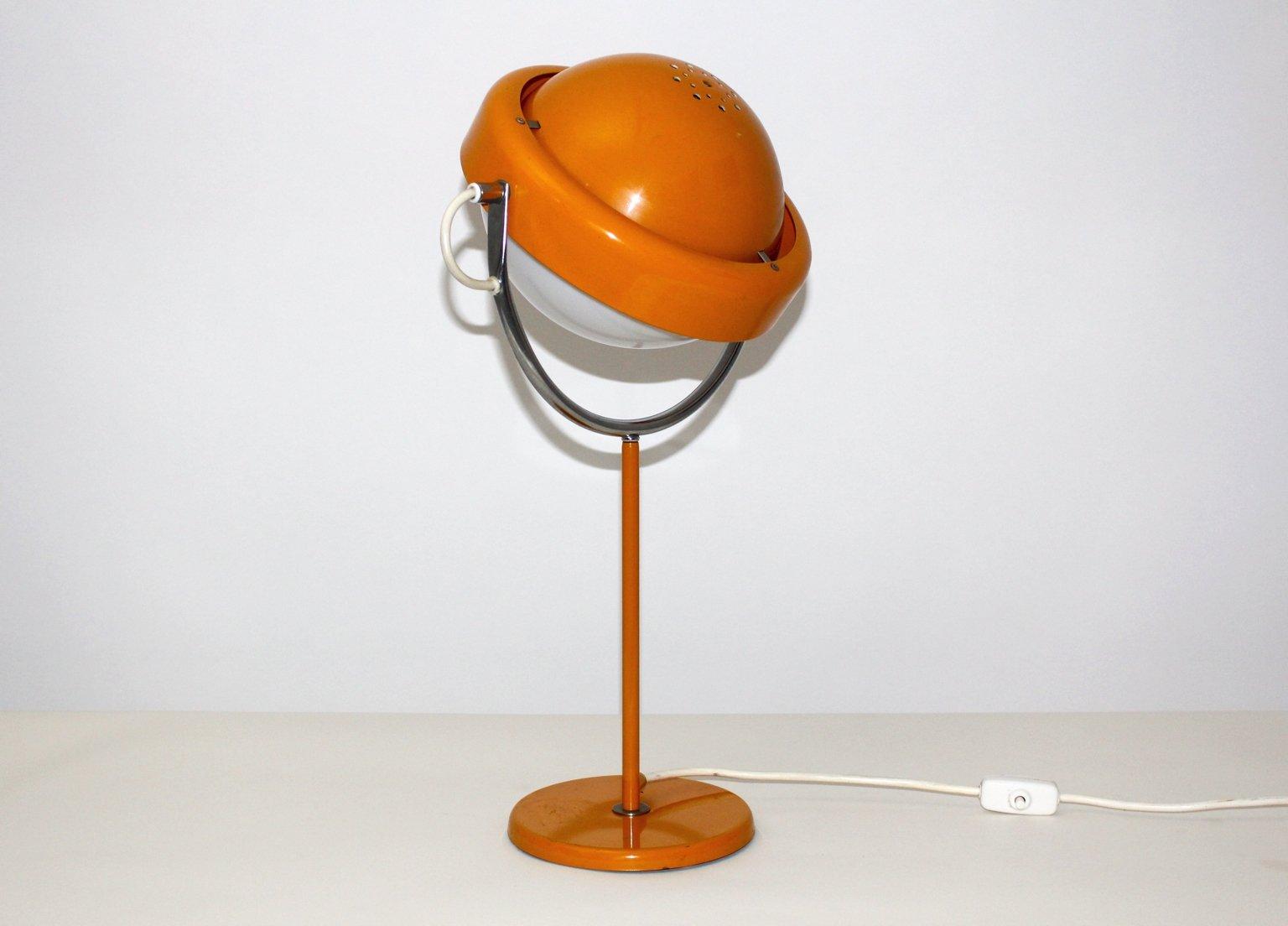 lamp by table costanzina led categories lighting orange aluminium luceplan tischleuchte lamps