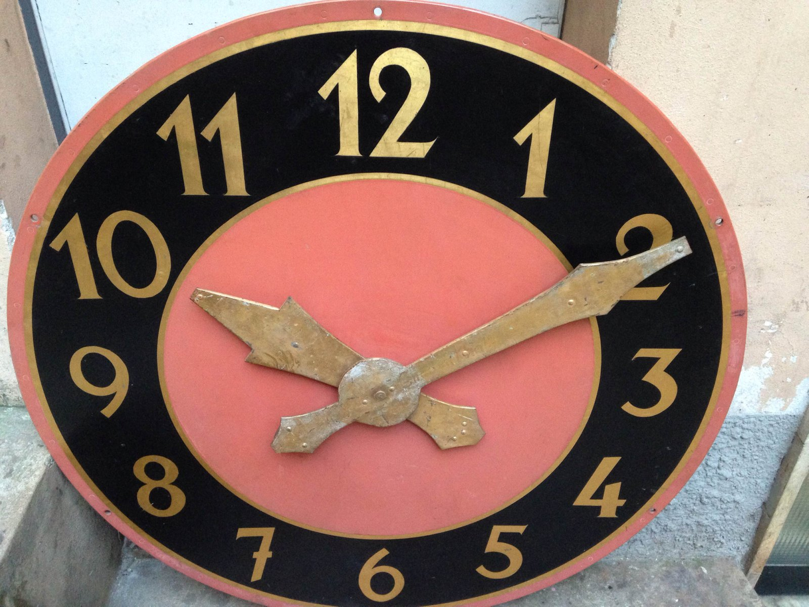 vintage bell tower clock face for sale at pamono