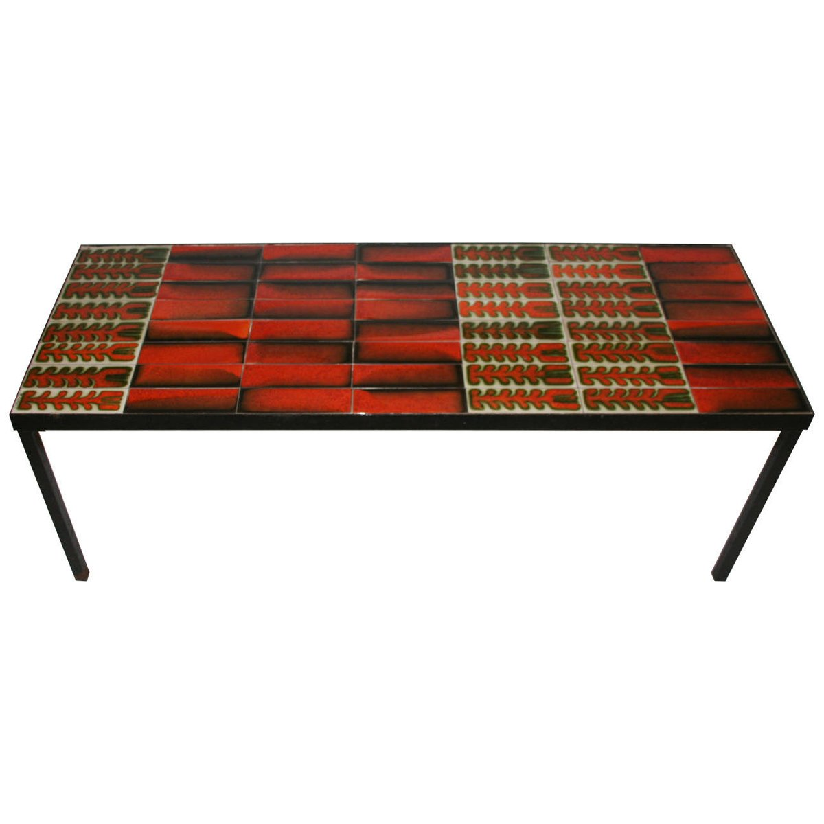 ceramic coffee table by roger capron 1960s for sale at pamono. Black Bedroom Furniture Sets. Home Design Ideas