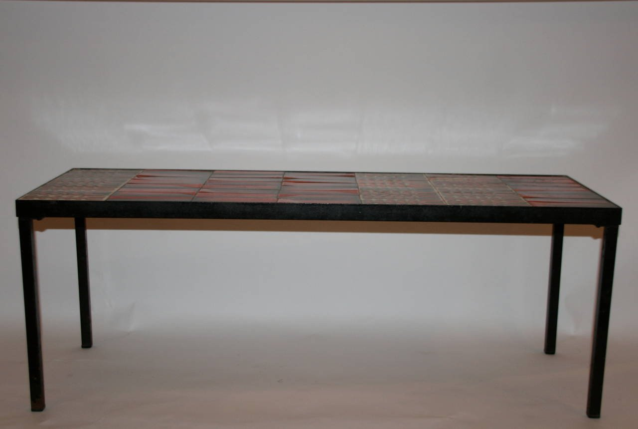 Ceramic Coffee Table by Roger Capron 1960s for sale at Pamono