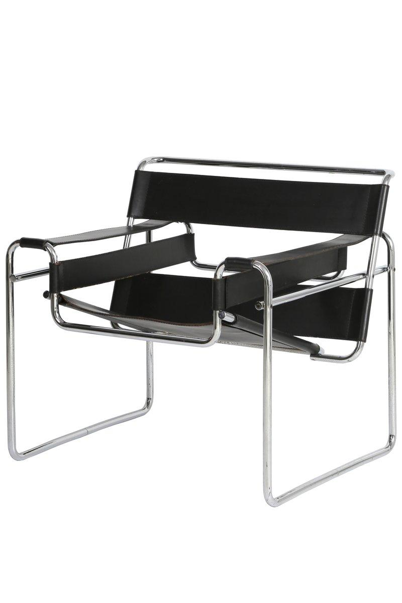 Marcel Breuer Stühle wassily stühle marcel breuer für gavina 1960er 2er set bei