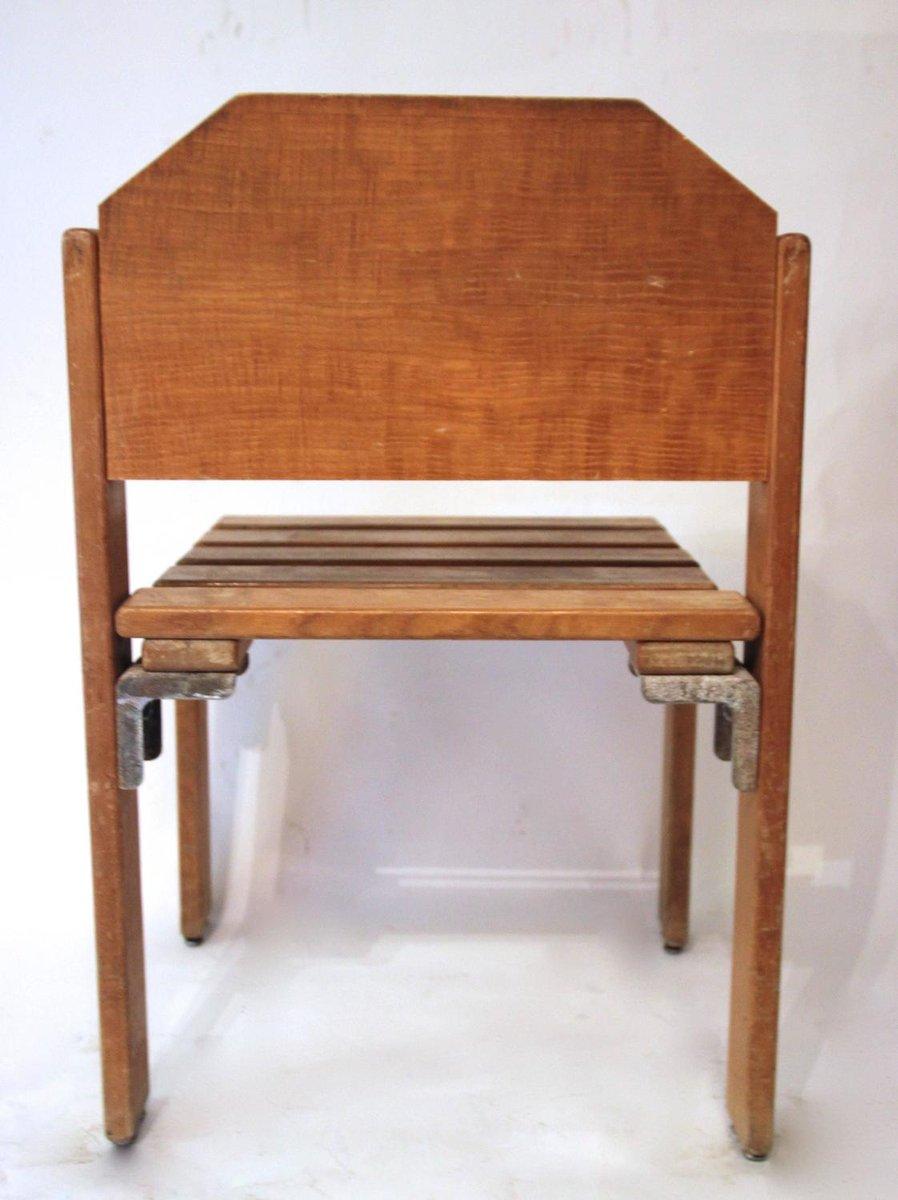 st hle aus holz von georges candilis und anja blomstedt 1960er 2er set bei pamono kaufen. Black Bedroom Furniture Sets. Home Design Ideas