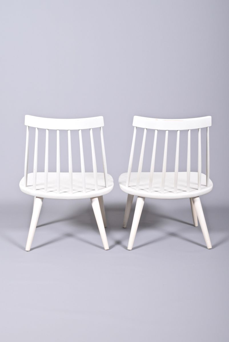 Sibbo Dining Chairs by Yngve Ekström for StolAB, 1955, Set of 2 for sale at Pamono