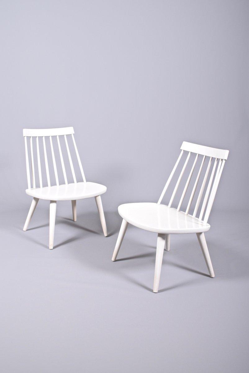 Sibbo Esszimmerstühle von Yngve Ekström für StolAB, 1955, 2er Set bei Pamono kaufen