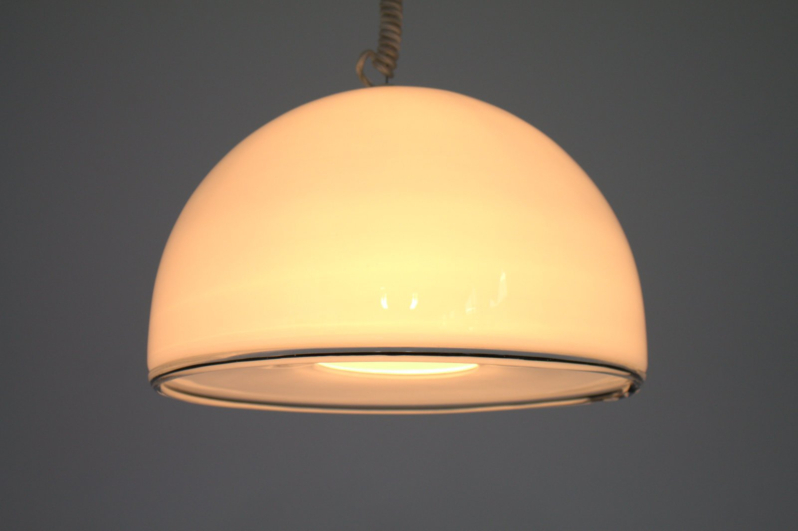 Murano Glass Pendant Lamp From Vetri 1980s