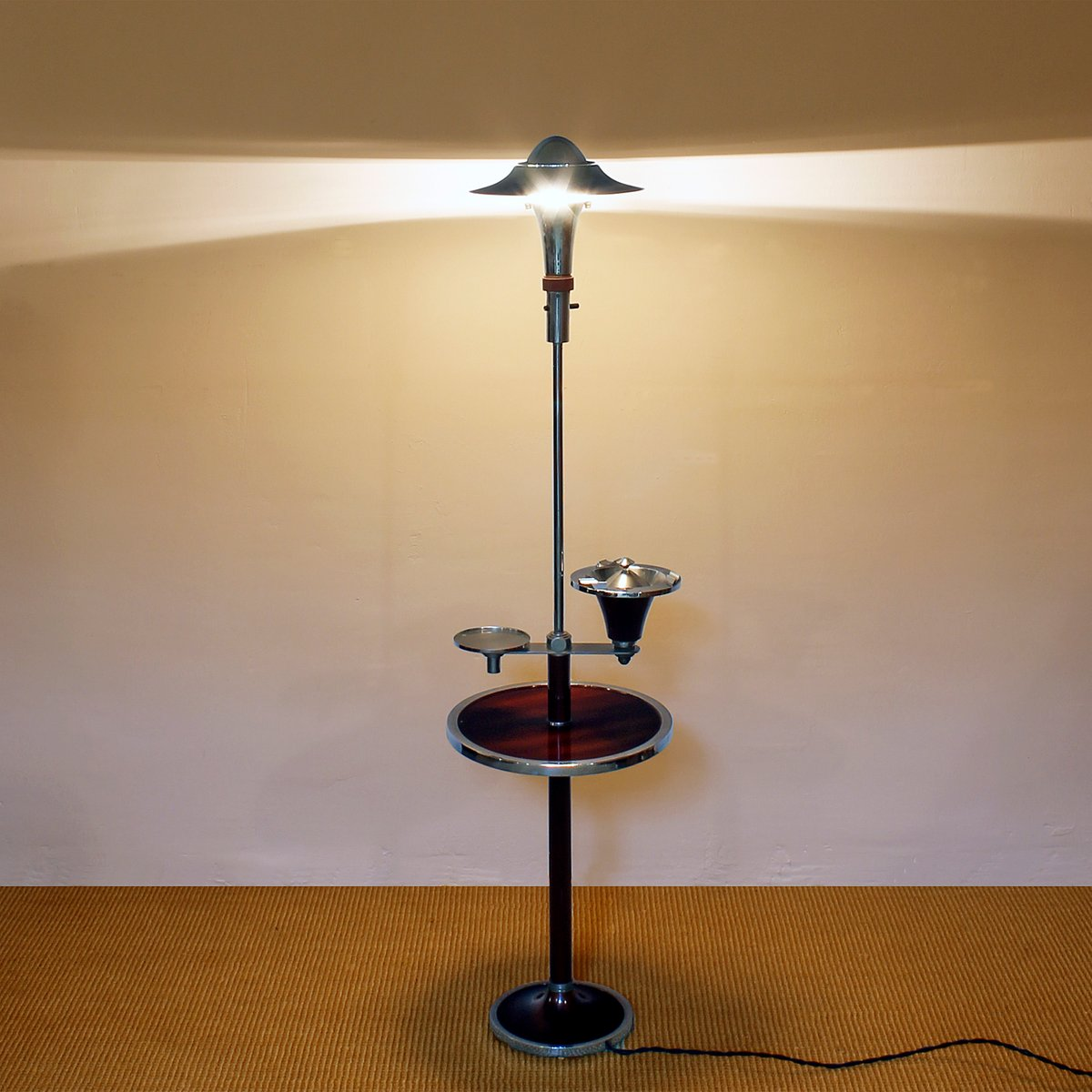 French art deco smokers floor lamp 1930s for sale at pamono french art deco smokers floor lamp 1930s mozeypictures Image collections