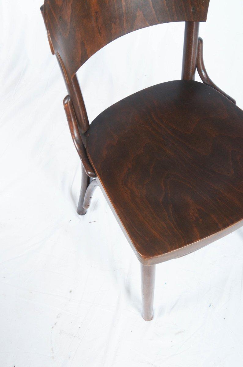 st hle aus bugholz von thonet 1930er 4er set bei pamono kaufen. Black Bedroom Furniture Sets. Home Design Ideas