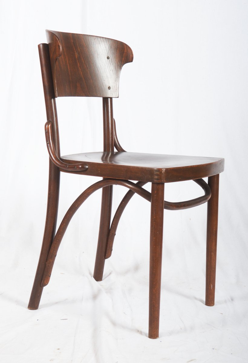 Bentwood Chairs From Thonet, 1930s, Set Of 4 For Sale At Pamono
