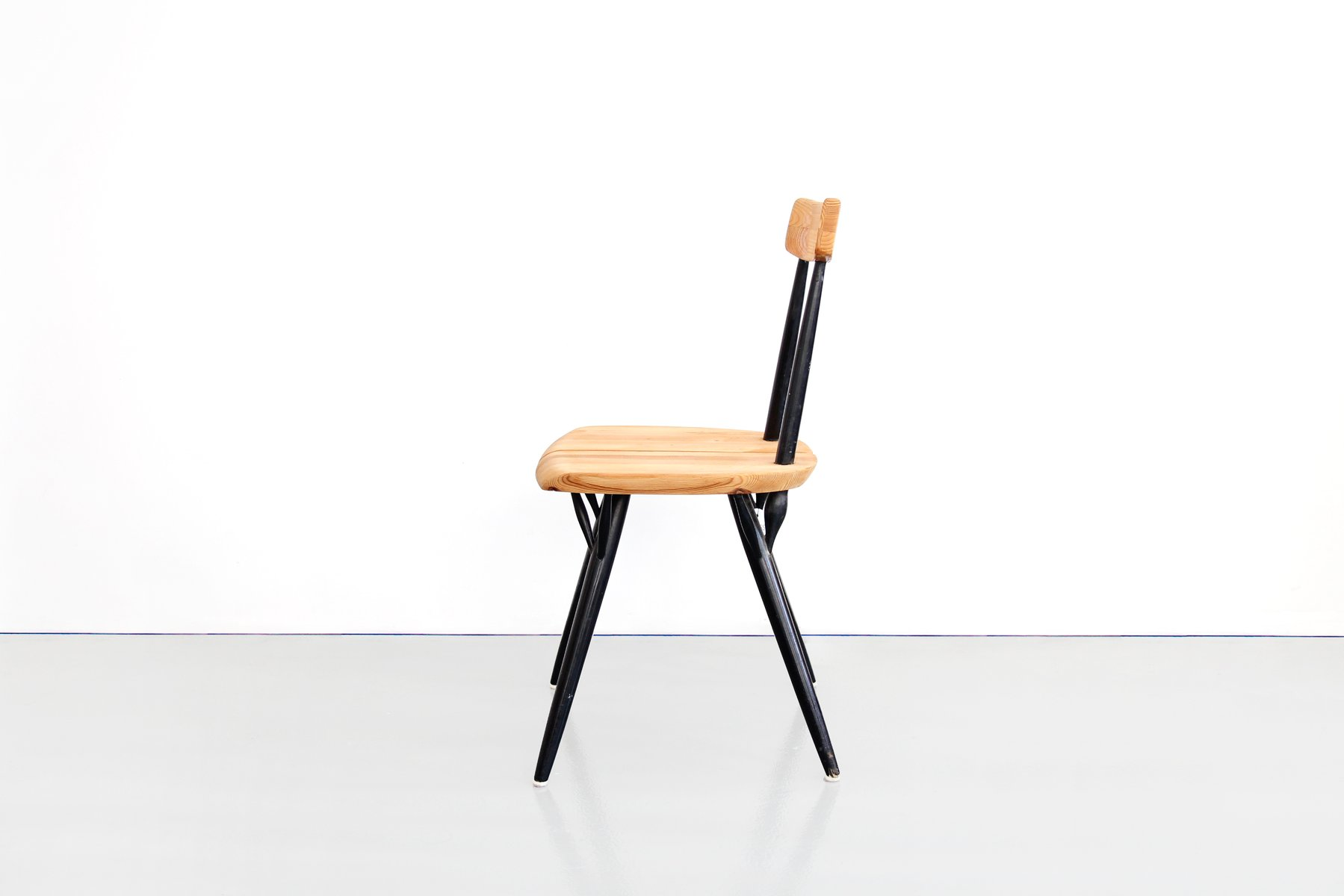 pirkka chair by ilmari tapiovaara for laukaan puu 1955 for sale at pamono. Black Bedroom Furniture Sets. Home Design Ideas