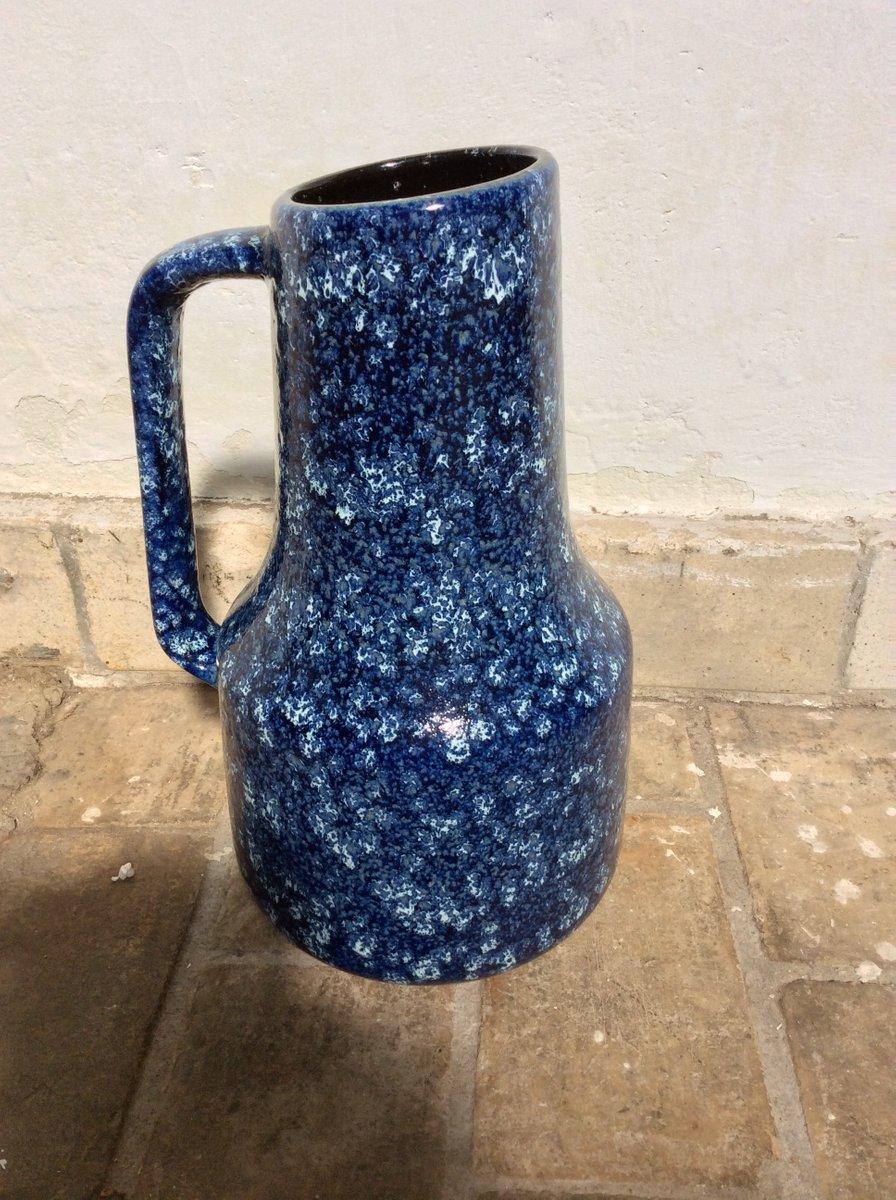 Blue vase from west german ceramics 1970s for sale at pamono blue vase from west german ceramics 1970s reviewsmspy