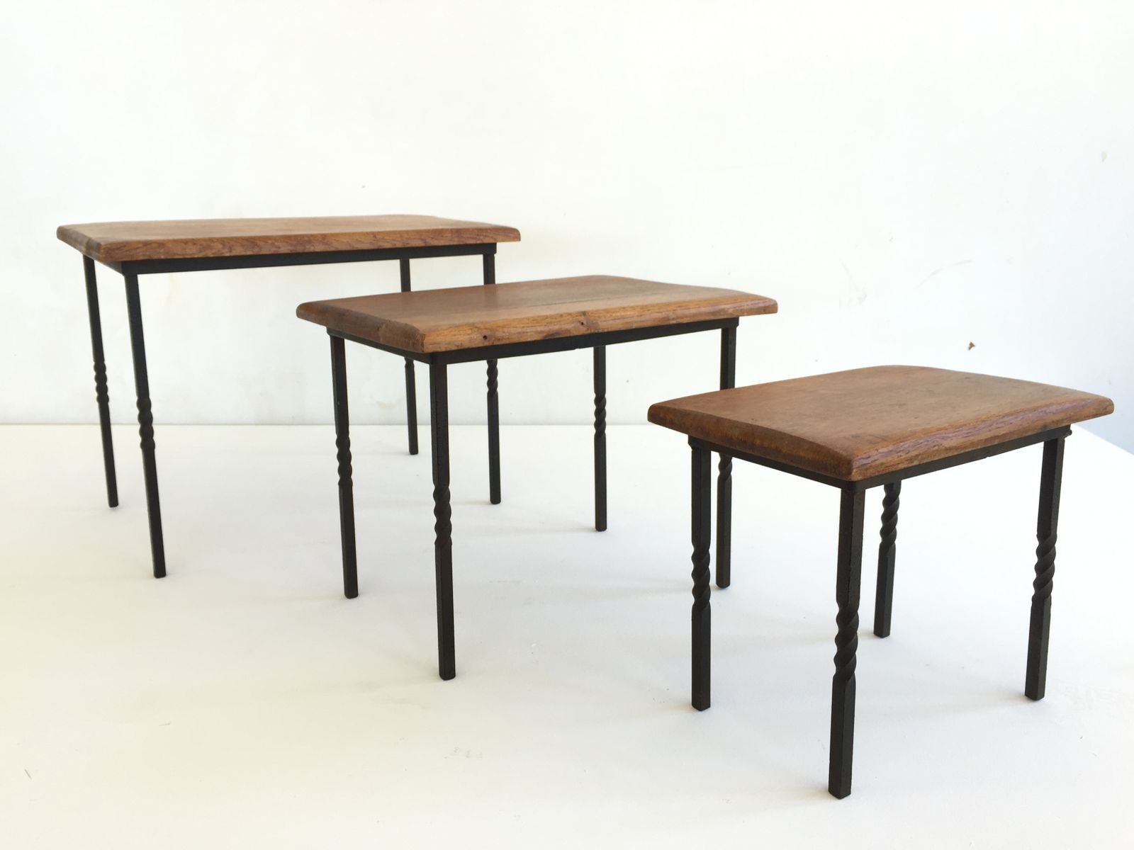 Mid Century Nesting Tables, 1960s, Set Of 3