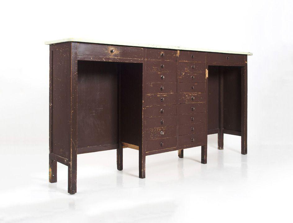 Tavoli Da Lavoro Vintage : Tavolo banco tavolino da lavoro vintage in legno colore