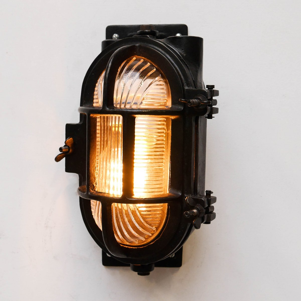 drehbare vintage wandlampe bei pamono kaufen. Black Bedroom Furniture Sets. Home Design Ideas