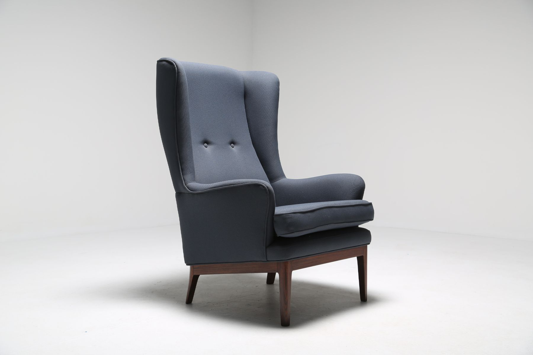 Mid Century Modern Wing Chair From Arne Norell For Sale At