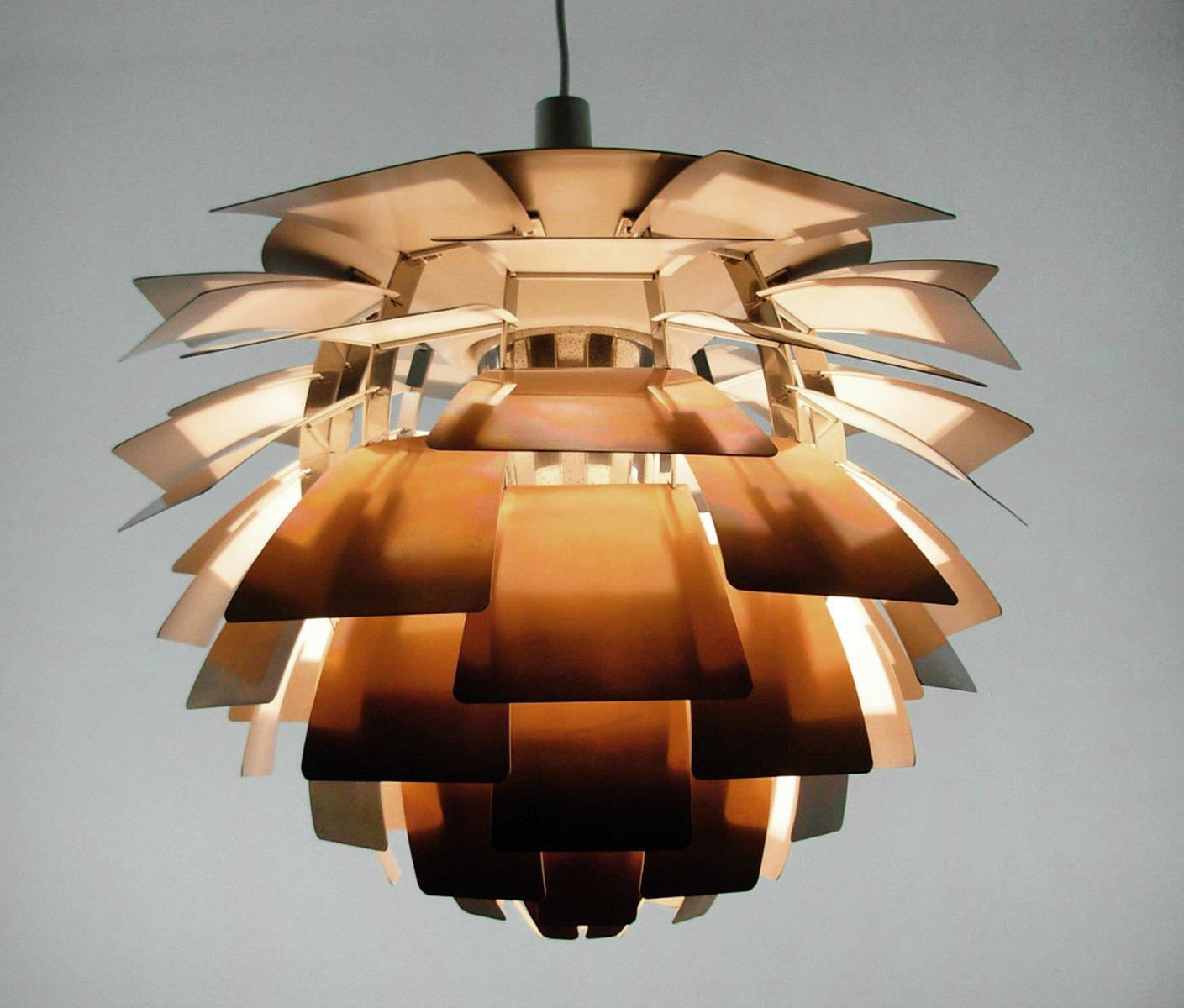 Elegant Vintage Artichoke Lamp By Poul Henningsen For Louis Poulsen For Sale At  Pamono