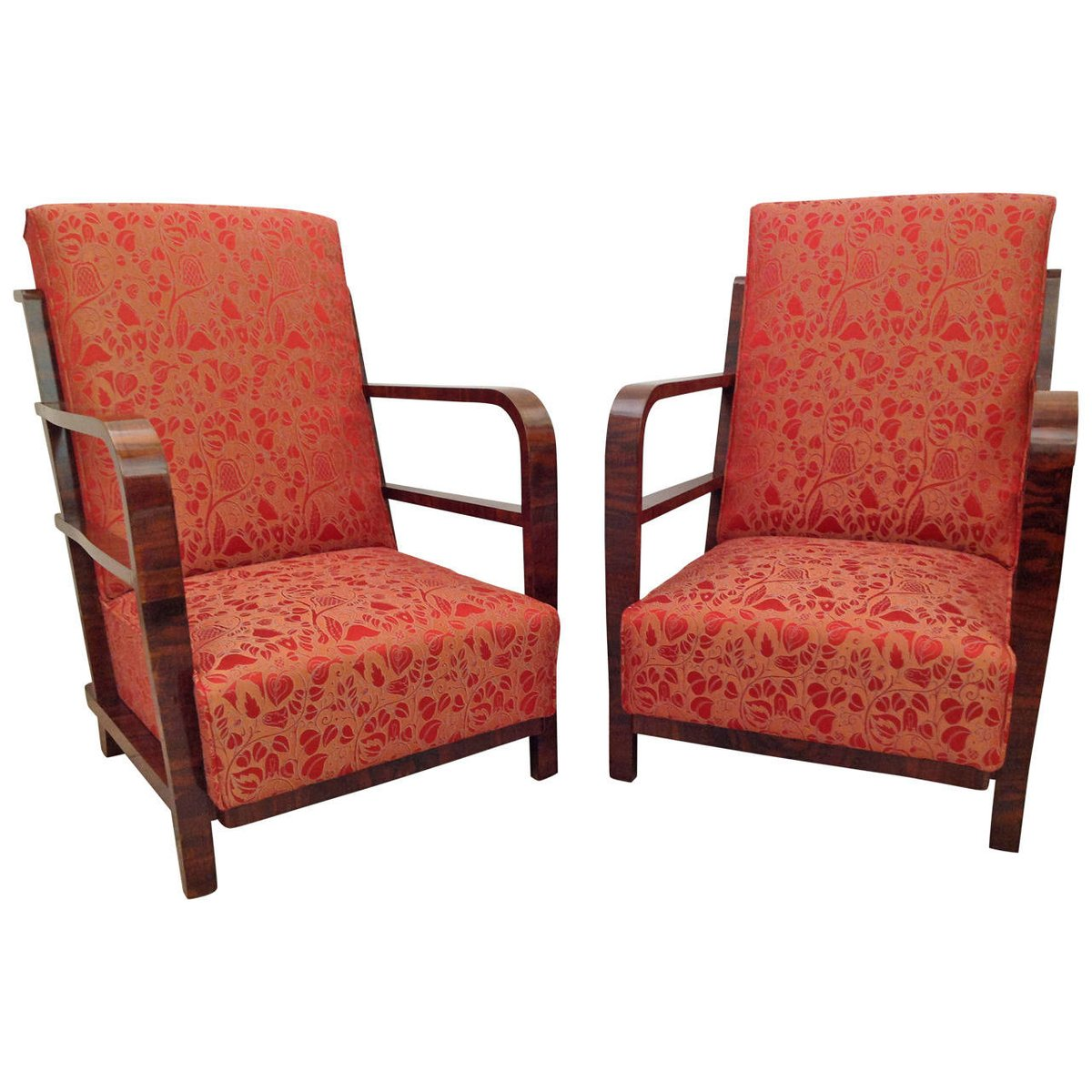 Art Deco Armchairs 1930s Set Of 2 For Sale At Pamono