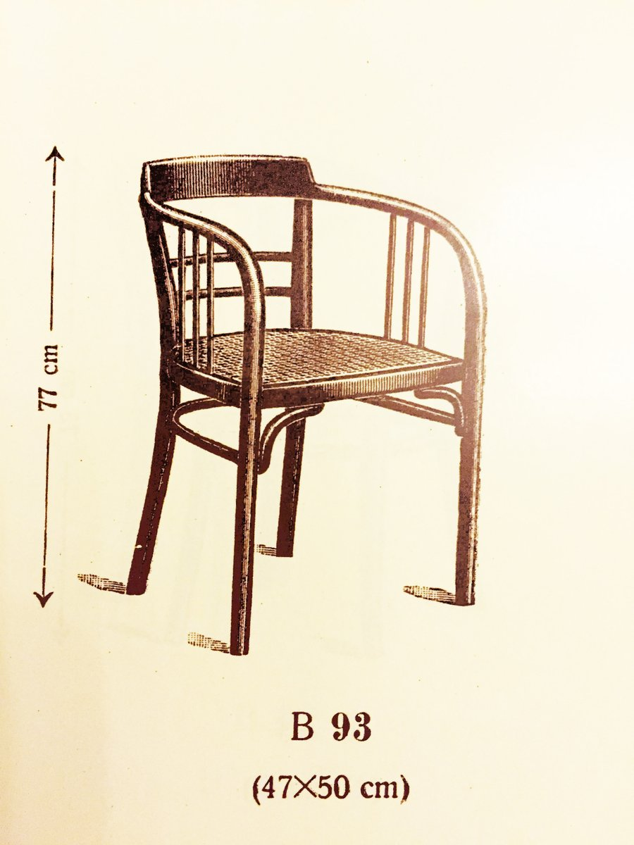 Beech Armchair By Otto Wagner For Thonet 1905 For Sale At