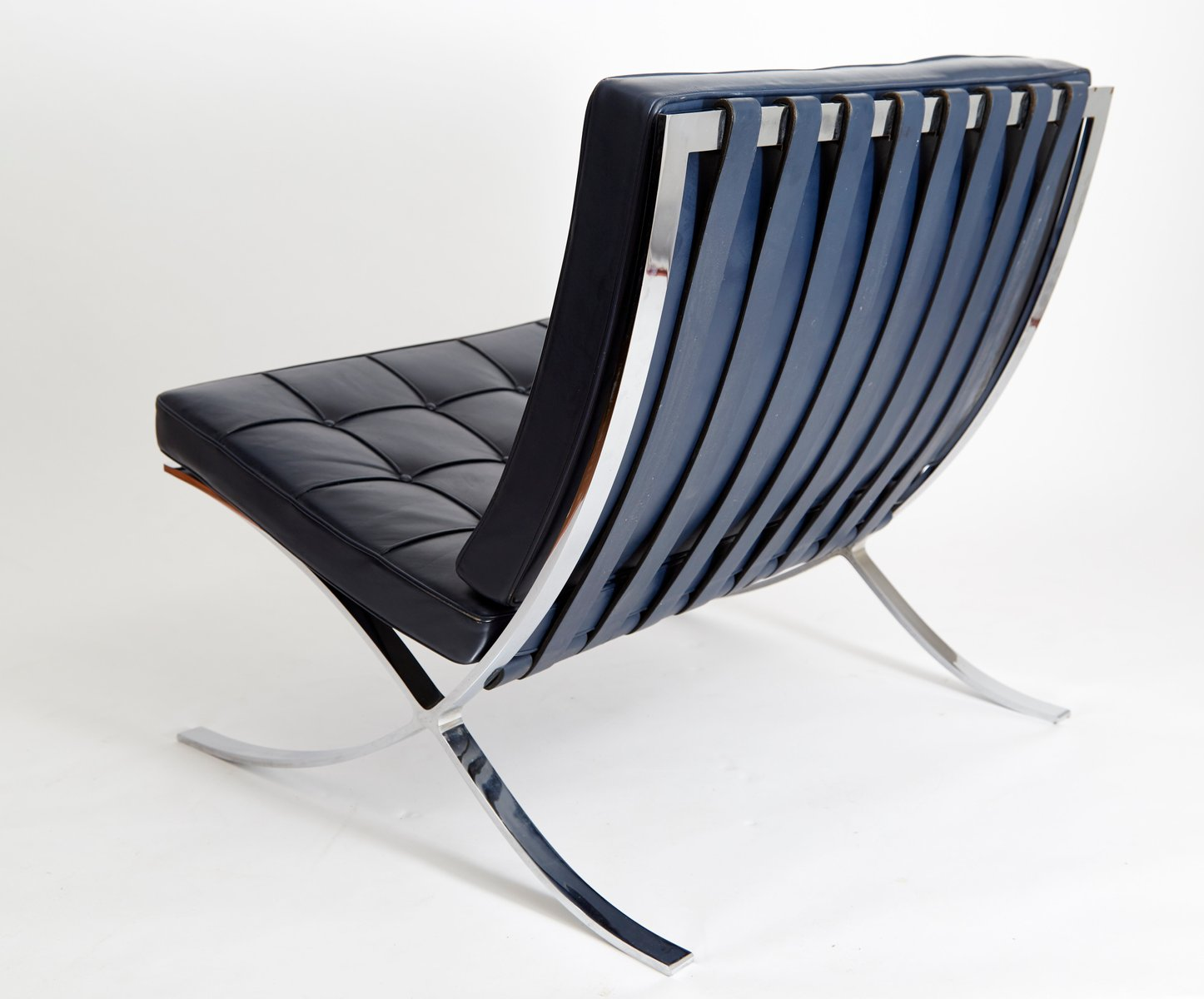 Vintage MR90 Barcelona Chair By Ludwig Mies Van Der Rohe For Knoll  International