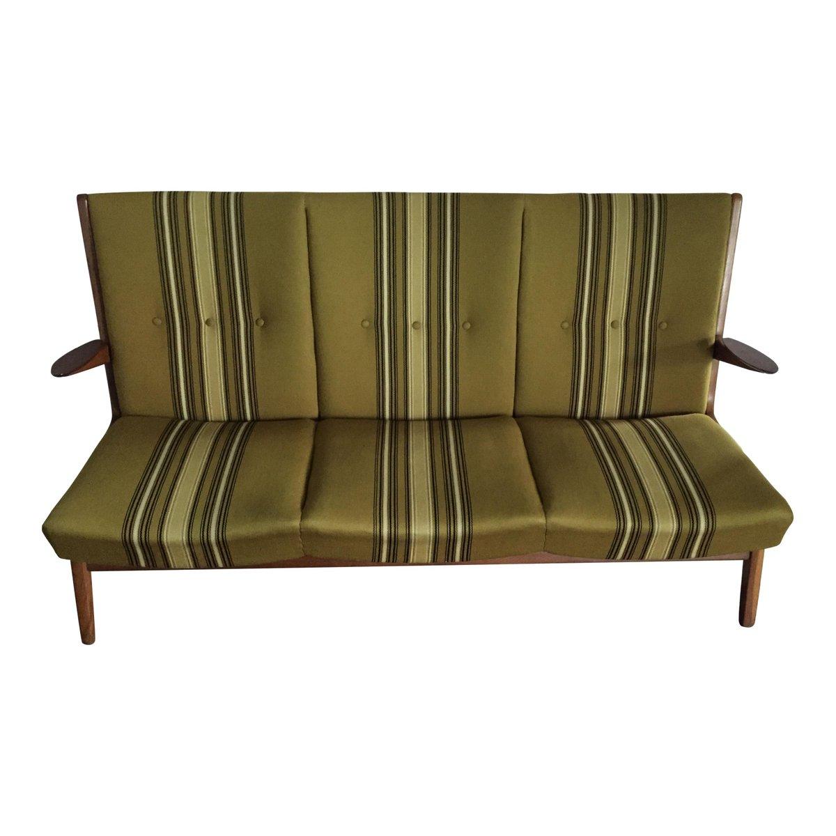canap scandinave en teck 1960s en vente sur pamono. Black Bedroom Furniture Sets. Home Design Ideas