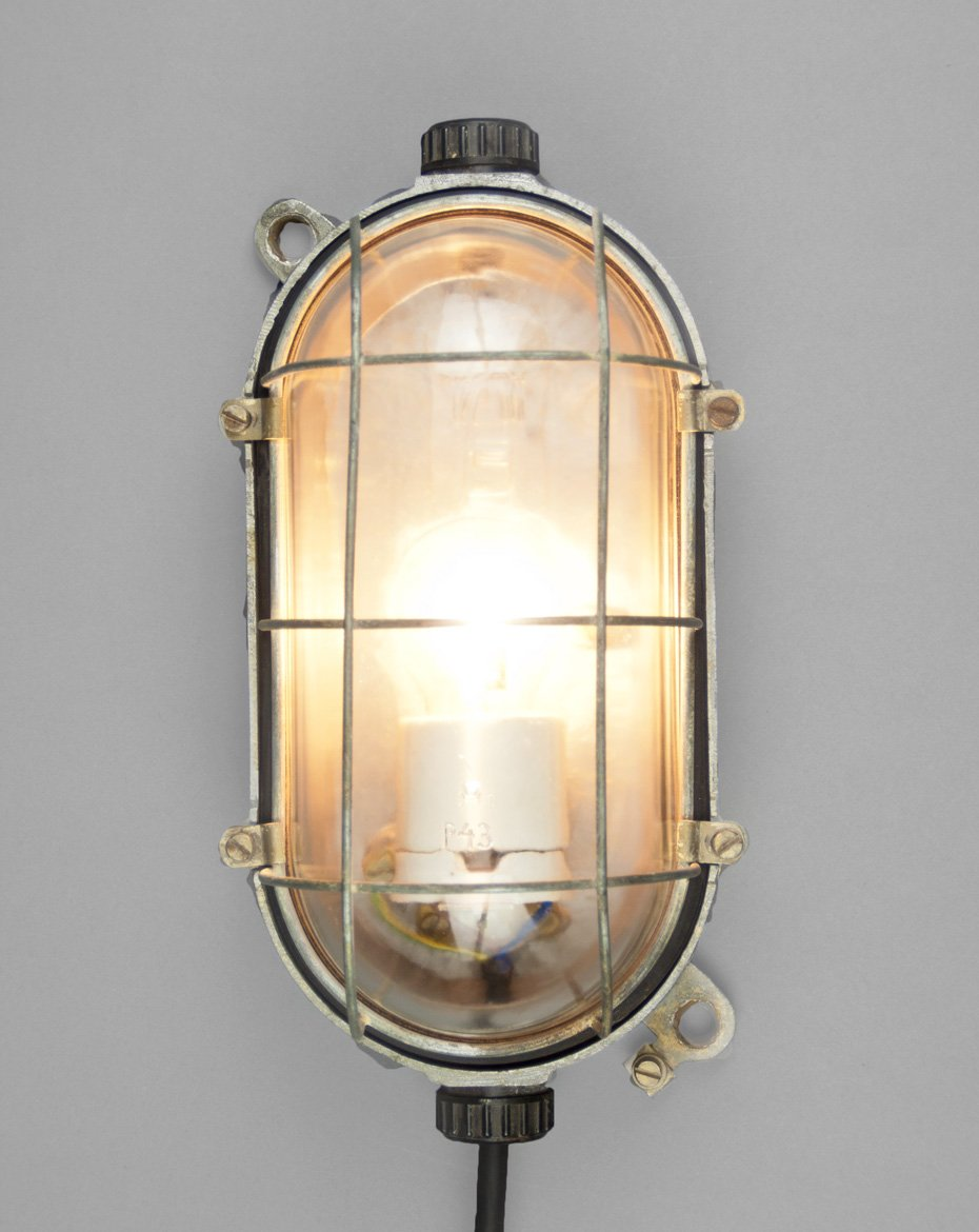 Slender turtle medium industrial wall lamp for sale at pamono aloadofball Choice Image