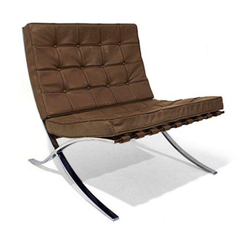 barcelona polsterstuhl von ludwig mies van der rohe. Black Bedroom Furniture Sets. Home Design Ideas