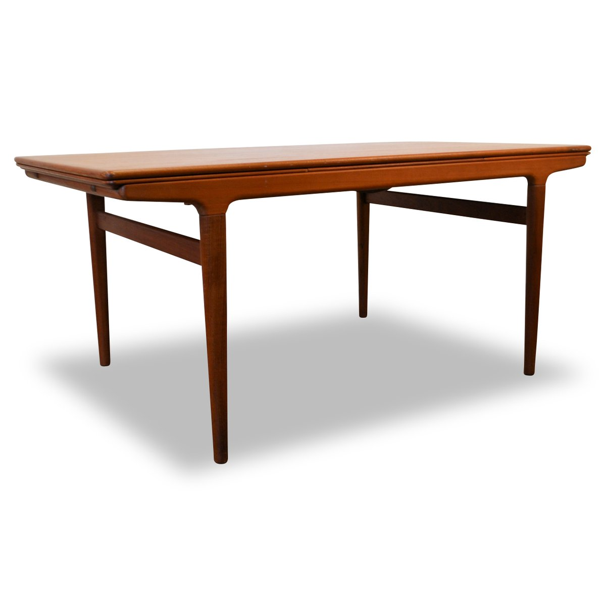 Table de salle manger extensible vintage en teck par for Table salle manger extensible