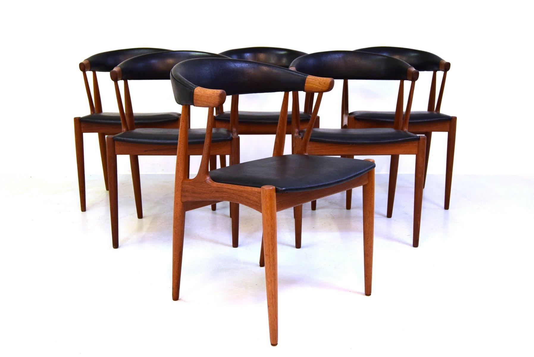 Model BA 113 Dining Chairs By Brdr Johannes Andersen For Andersens Mbelfabrik Set Of 6