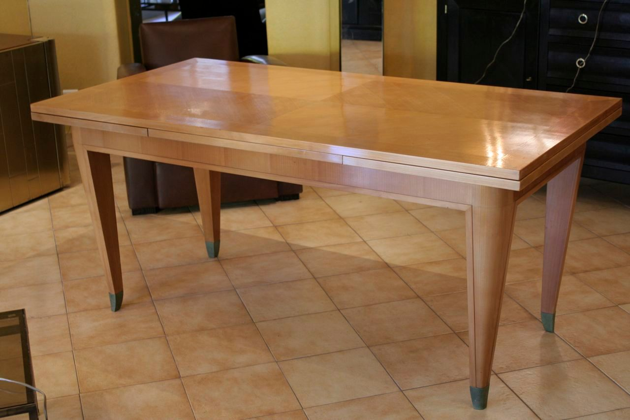 wood dining tables for sale deco sycamore dining table 1930s for at pamono 1930
