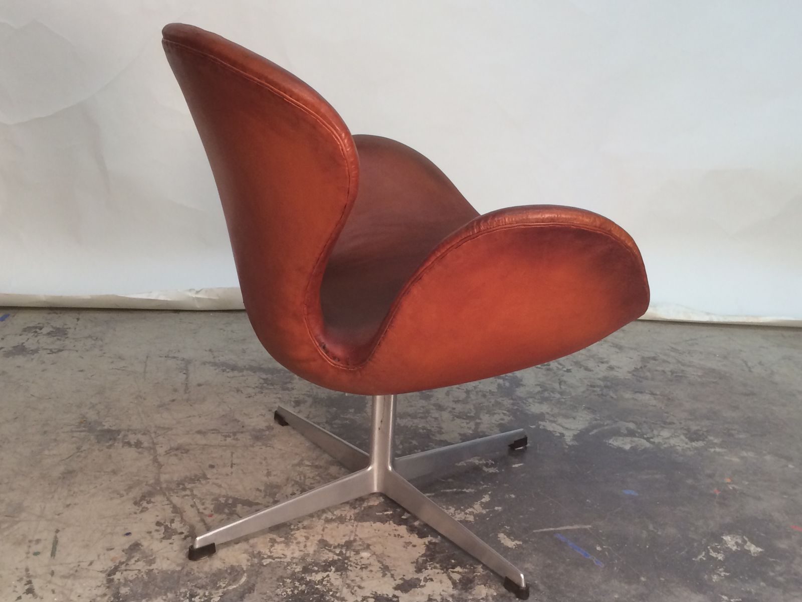 swan chair by arne jacobsen for fritz hansen 1960 for sale at pamono. Black Bedroom Furniture Sets. Home Design Ideas