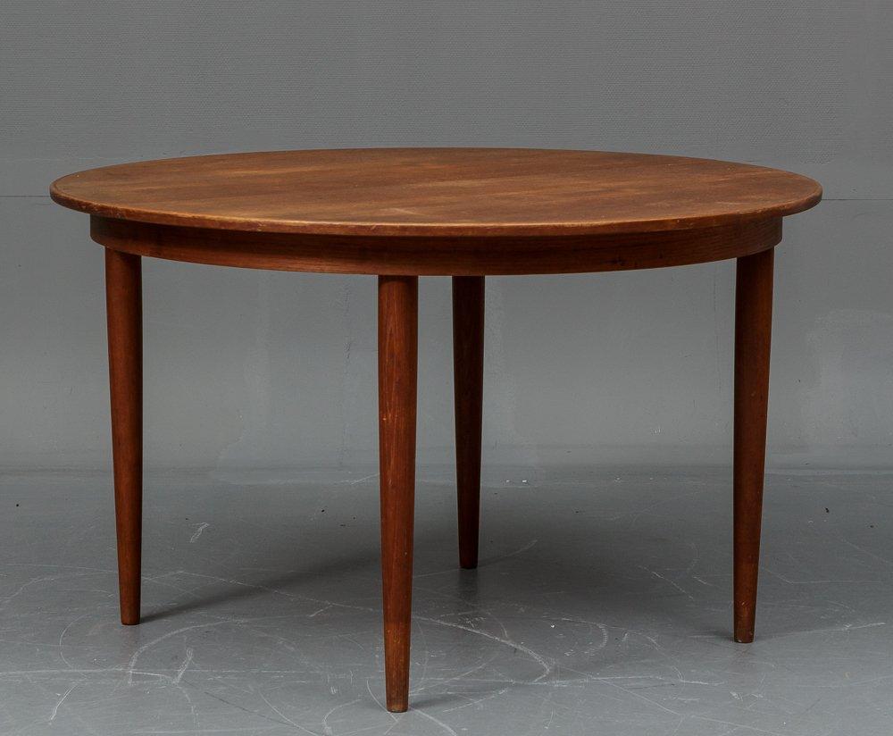 d nischer teak esstisch mit 4 st hlen von vejle stole og mobelfabrik 1960er bei pamono kaufen. Black Bedroom Furniture Sets. Home Design Ideas
