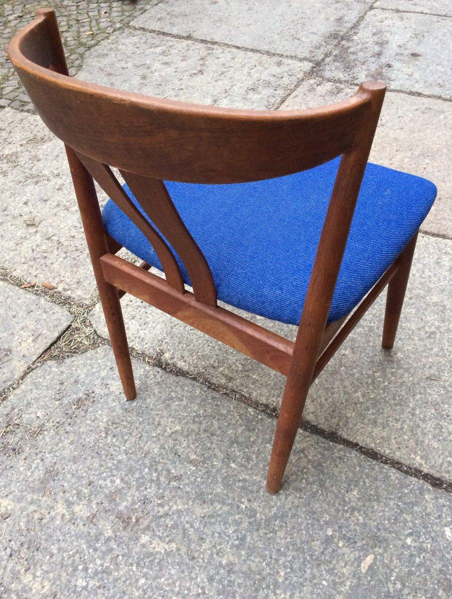 d nischer teak esstisch mit 4 st hlen von vejle stole og. Black Bedroom Furniture Sets. Home Design Ideas