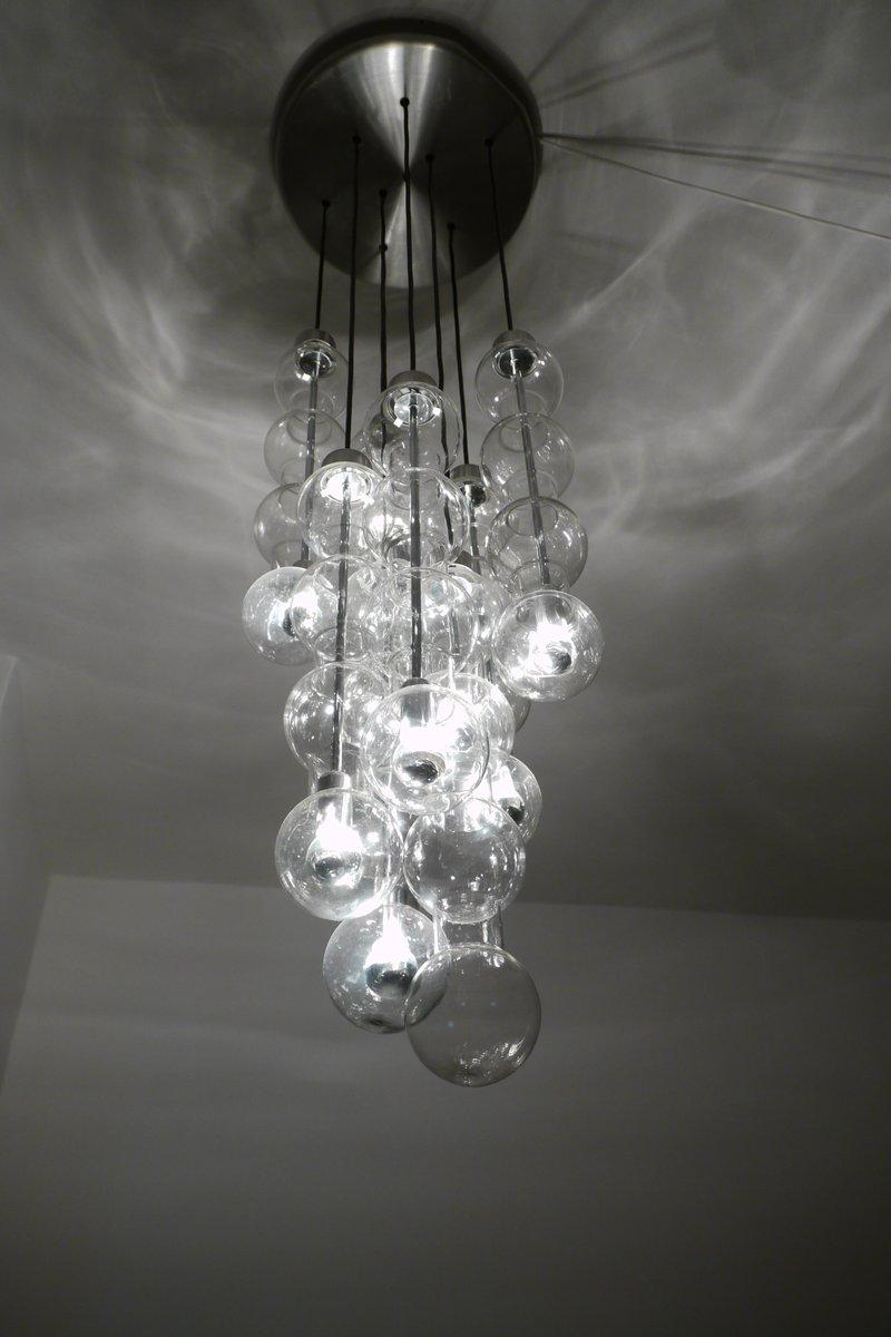 Mid century model 4309 cascade bubble lamp from doria for sale at pamono price per piece arubaitofo Image collections