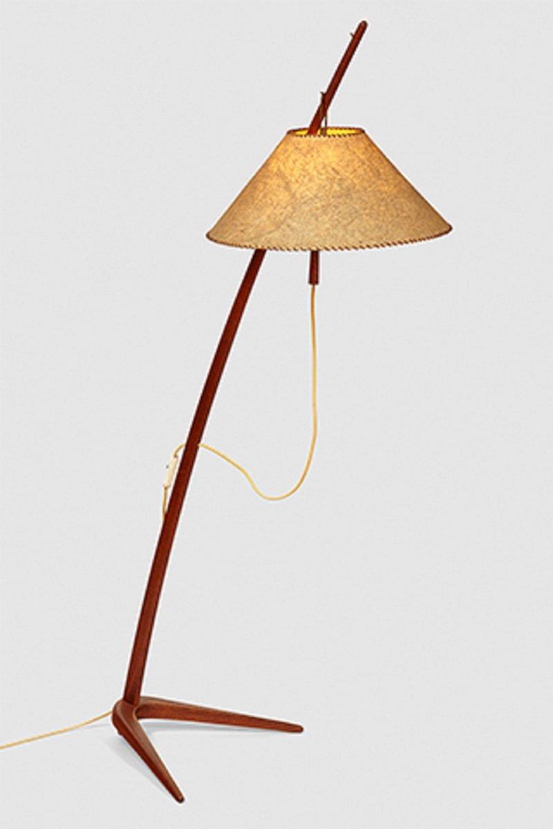 Vintage floor lamp by j t kalmar en venta en pamono vintage floor lamp by j t kalmar aloadofball Image collections